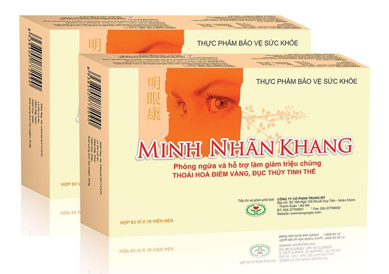 Minh Nhãn Khang – Giải pháp tối ưu giúp ngăn ngừa khô mắt sau phẫu thuật Lasik